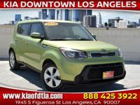 CARFAX One-Owner. Clean CARFAX. Green 2015 Kia Soul 4D