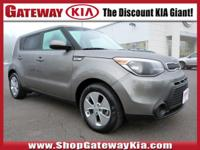 KIA CERTIFIED, CLEAN CARFAX..NO ACCIDENTS!, LOW MILES!,
