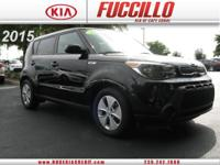 This 2015 Kia Soul 5dr Wgn Man Base is offered to you
