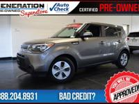 2015 Kia Soul. Don't let the miles fool you! Power To