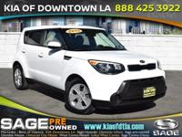 Discerning drivers will appreciate the 2015 Kia Soul!