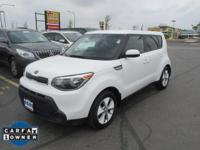 Options:  2015 Kia Soul Base|Miles: 38186Color: Clear