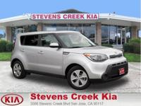 Options:  2015 Kia Soul Wagon|Silver|4-Cyl 1.6