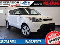 Cloud and 2015 Kia Soul. Power To Surprise! Gasoline!