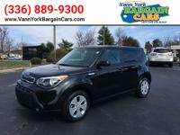 This 2015 Kia Soul Base is proudly offered by VANN YORK