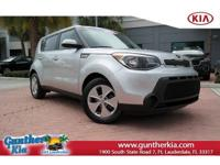 *Gunther certified!* This is a 2015 Kia Soul Base with