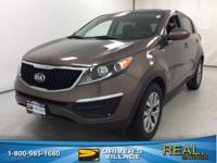 AWD. Certified. Sand 2015 Kia Sportage LX AWD 6-Speed