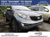 Sage Green 2015 Kia Sportage EX AWD 6-Speed Automatic