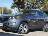 Check out this gently-used 2015 Kia Sportage we