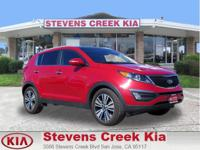 Options:  2015 Kia Sportage Ex Sport Utility|Red|4-Cyl