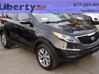 Get a great buy on the capable AWD Sportage LX.  Well