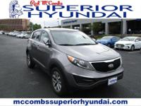 Sturdy and dependable, this Used 2015 Kia Sportage LX