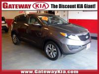 KIA CERTIFIED, SAND TRACK SPORTAGE LX HAS A CLEAN