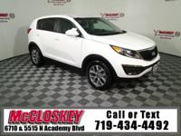 Enjoy your commute in this 2015 Kia Sportage LX w/