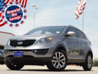 2015 Kia Sportage Mineral Silver 6-Speed Automatic
