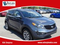 2015 Kia Sportage LX Twilight Blue Clean CarFax, 17