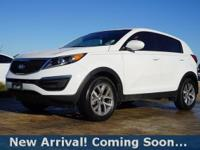 2015 Kia Sportage LX in Clear White, This Sportage