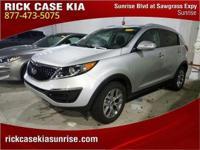 2015 Kia Sportage LX in Silver, Roadside Assistance, 10