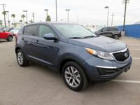 2015 Kia Sportage LX!!! The 2015 Kia Sportage goes a