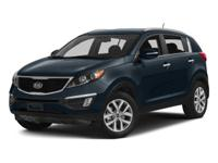 Check out this certified 2015 Kia Sportage LX. Its