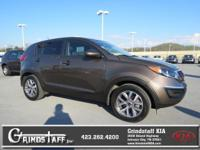 LOW MILES, This 2015 Kia Sportage LX will sell fast