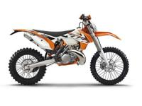 2015 KTM 200 XC-W does not consist of government fees