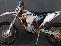Motorcycles Off-Road 2305 PSN . the 350 XCF-W is the