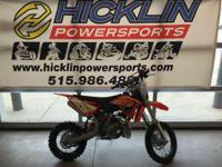 2015 KTM 65 SX CALL FOR PRICING the 65 SX defines the