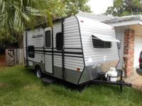 2015 KZ 16 Camper. Bought new in April 2015 for trip to