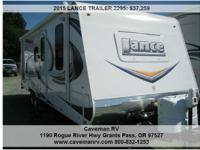 2015 LANCE TRAILER 2295 , 1190 Rogue River Hwy Grants