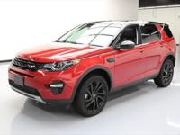 2015 Land Rover Discovery with 2.0L Turbocharged I4