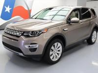 2015 Land Rover Discovery with Leather Seats,Power