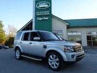 2015 Land Rover LR4 HSE. One-Owner Local Trade! This