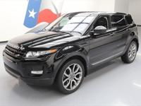 2015 Land Rover Evoque with 2.0L I4 Engine,Leather