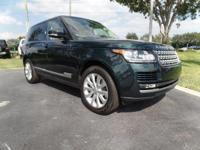 This 2015 Land Rover Range Rover is featured in Green .