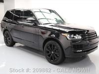 2015 Land Rover Range Rover with 3.0L V6 Engine,Leather