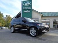 2015 Range Rover HSE. One-Owner! This Pre-Owned Range