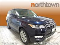 1 Owner, 2015 Range Rover Sport HSE.Loire Blue over