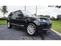 This 2015 Land Rover Range Rover is featured in Black .