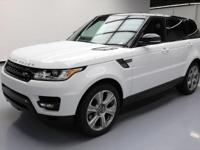 2015 Land Rover Range Rover Sport with 3.0L V6 SFI