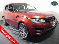 2015 Land Rover Range Rover Sport 4X4 with a 5.0L V8