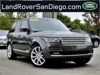 Land Rover Certified Warranty to 3/2021 or 100,000