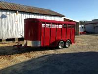 Come check out our line of Laredo Trailers built right