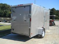 2015 Lark United 6X12SA V-Nose 6x12 This 6x12 V-Nose