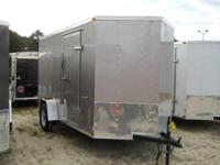 "6'6"" interior height enclosed cargo trailer 5 YEAR"