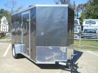 2015 Lark United LK612SA V-Nose 6x12 This 6x12 V-Nose