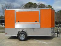 2015 Lark United LK612SA VN Vending Trailer 6X12