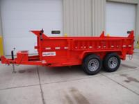 "(989) 607-4841 ext.616 83"" x 12' Open Dump Trailer For"