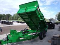 "(989) 607-4841 ext.629 83"" x 12' Open Dump Trailer For"