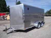 (989) 607-4841 ext.128 7' x 16' Enclosed All Aluminum
